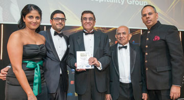 MR SHIRAZ BOGHANI, CHAIRMAN OF SPLENDID HOSPITALITY GROUP, AWARDED HOTELIER OF THE YEAR AT THE ASIAN BUSINESS AWARDS 2016