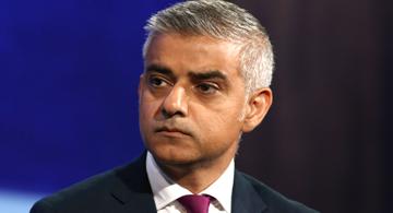 MAYOR OF LONDON SADIQ KHAN ATTENDS DAWN BUTLER MP GALA DINNER