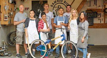 HILTON LONDON BANKSIDE LAUNCHES BAMBOO BICYCLES